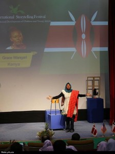 Representing Kenya at KANOON, Tehran