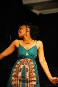 Mshai in a performance moment